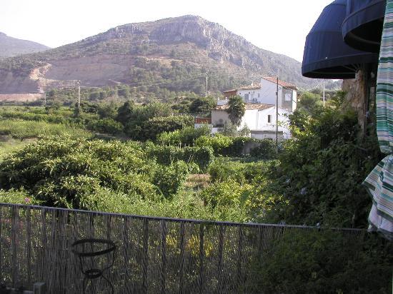 La  Casa Vieja: The terrace