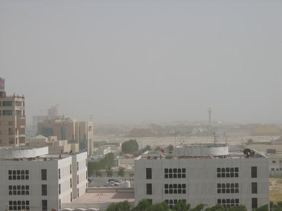 ‪‪Le Meridien Al Khobar‬: View of Al-Khobar from the room‬