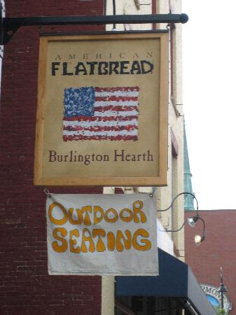 American Flatbread sign