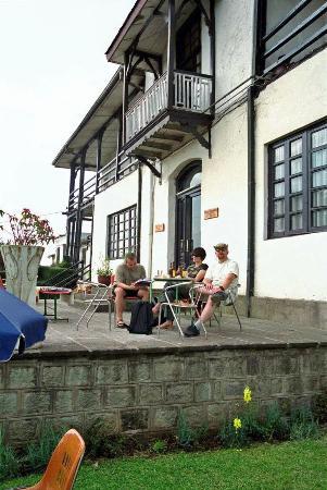Taitu Hotel: backyard
