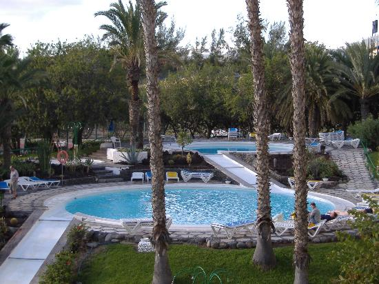 Paraiso Maspalomas: view from our room