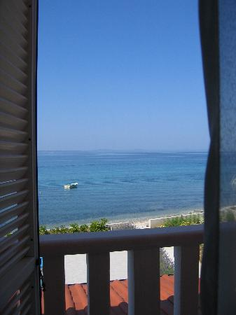 Pension Delfin: Room with a view