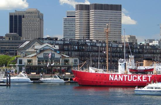 Boston Yacht Haven Inn & Marina: The Boston Yacht Haven and the Nantucket.