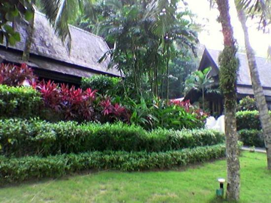 Pangkor Laut Resort: beach villa