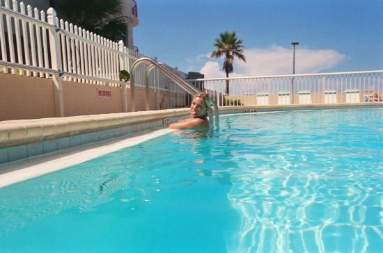 Surf Song Resort Townhouse #343: In the pool