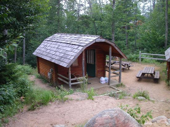 Old Forge Camping Resort: Our humble cabin