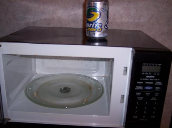Ramada Limited Cockeysville: The microwave