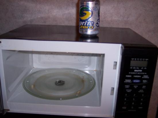 رمادا ليميتد كوكيزفيل: The microwave