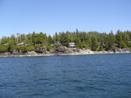 Water's Edge Bed and Breakfast : Waters Edge from the Zodiac