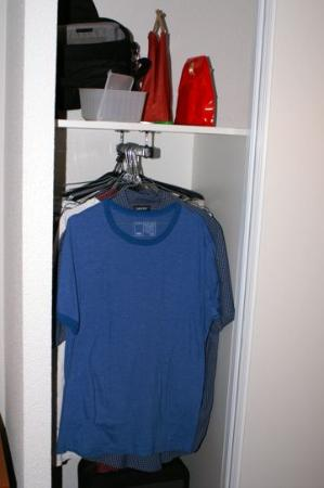 Adagio Access Toulouse Jolimont: The small closet makes it hard to have more than 5 days of clothes