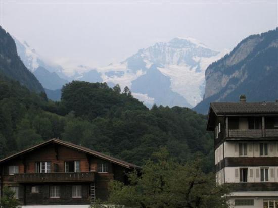 Hotel Alpenrose: View from garden