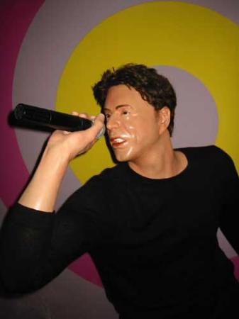 Madame Tussauds Blackpool: Ricky Martin! Sexy or what?