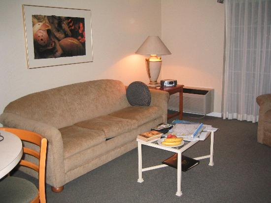 Varsity Clubs of America: Lounge area