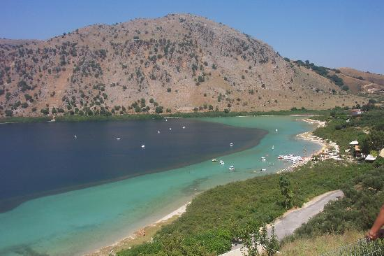 Gerani, Hellas: Hire a pedalo for 7 euros an hour