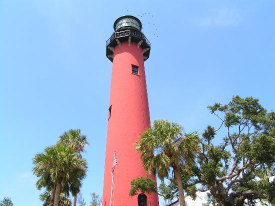 Daytona Beach, FL: Jupiter Island Lighthouse