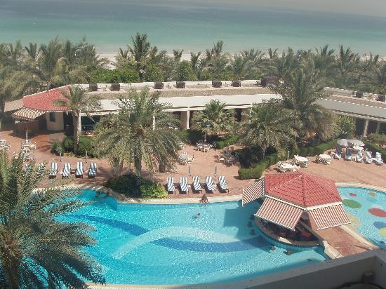 Ajman, Emiratos Árabes Unidos: view from hotel room