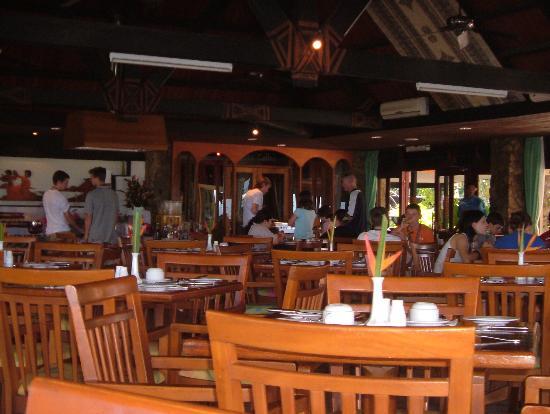 Naviti Resort : DIning Hall Upstairs