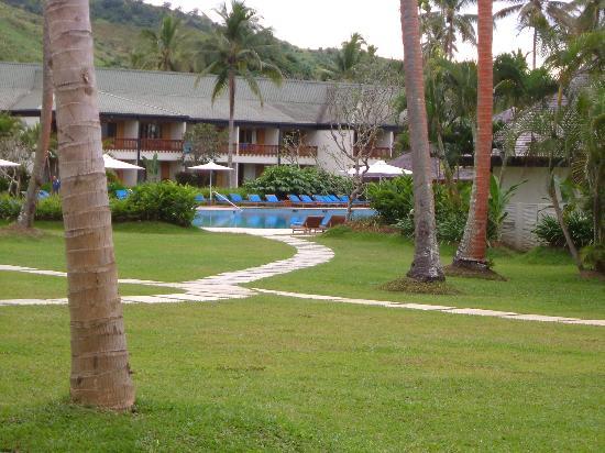 Naviti Resort : View for Room in NADI wing (new)