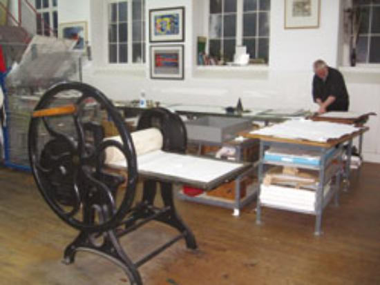 Peacock Visual Arts: the printmaking workshop