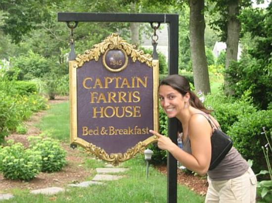 Captain Farris House Bed & Breakfast: Arrival