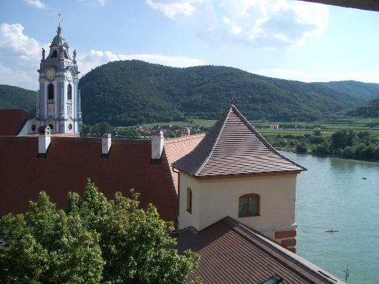 Hotel Schloss Dürnstein: view from our room
