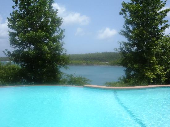 Bel Air Plantation Resort: Infinity Pool and View