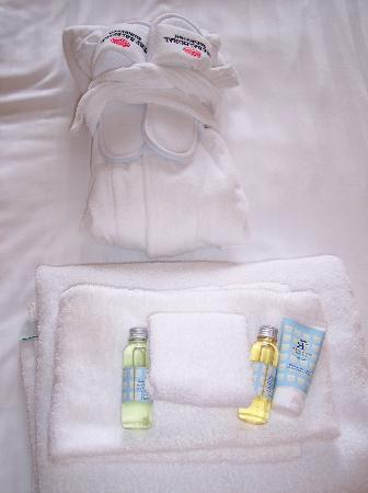 "The Balmoral Hotel: Child ""welcome kit"""