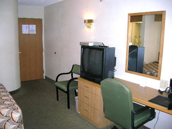 Sleep Inn: Desk Area