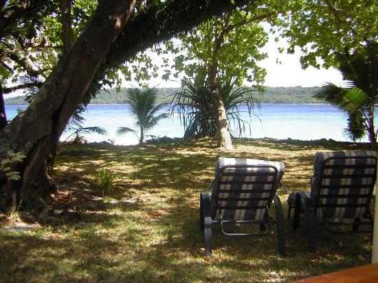 Espiritu Santo, Vanuatu: View from our bungalow