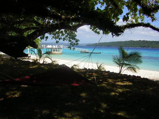Espiritu Santo, Vanuatu: The beach