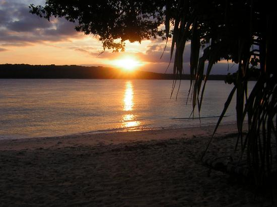 Espiritu Santo, Vanuatu: Sunset