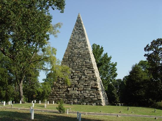 The Confederate Memorial at Richmond's Hollywood Cemetery