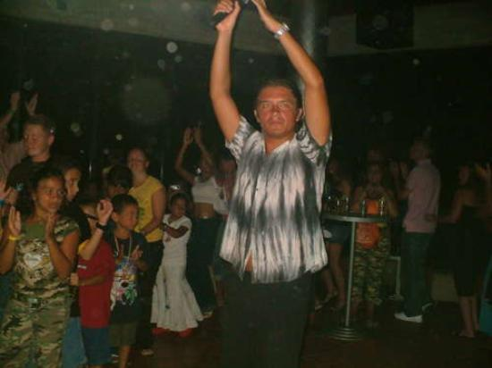 Laguna Mar: Angelo, one of the entertainment people