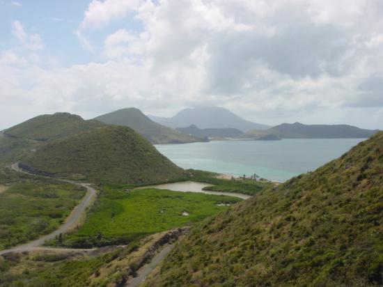 ‪‪St. Kitts‬: Panoramic view of St. Kitts‬