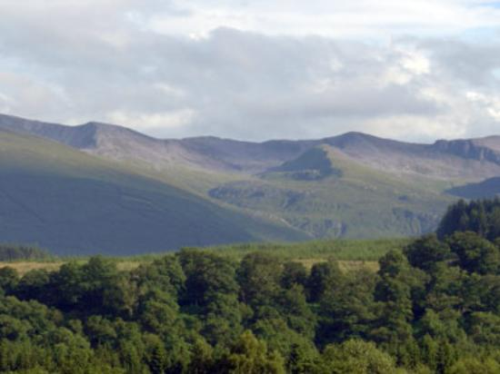 The Braes Guest House: View from The Braes