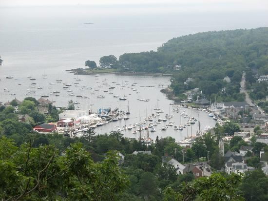 Mount Battie: View from about halfway point