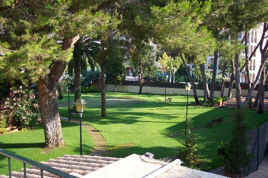 Hotel Bahia: Le jardin
