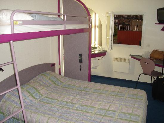Ibis Budget Le Havre Centre Habitación Del Hotel Como En Todos Los Etap