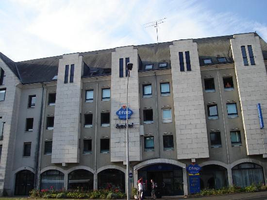 Ibis Budget Blois Centre: Fachada del hotel