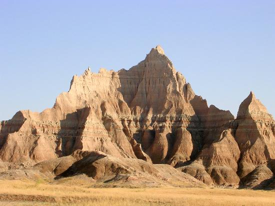 Badlands Inn: Great view from the nearby breakfast lodge (10% off breakfast if you stay in the Inn)