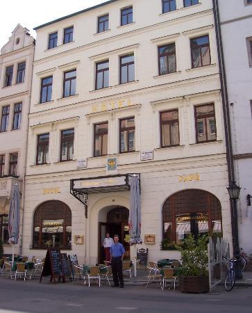 Βίτενμπεργκ, Γερμανία: Goldener Adler Hotel, Wittenberg