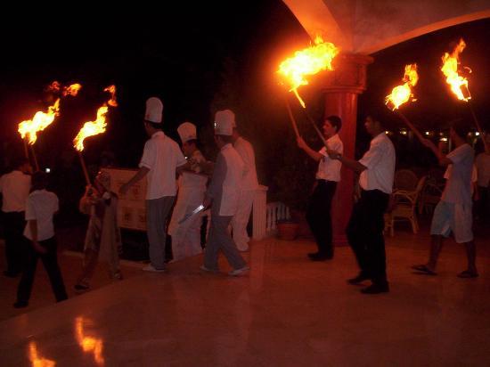 Sultan's Beach Hotel: turkish night