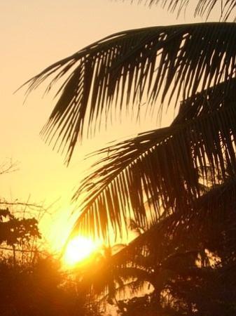 Costa Dorada Beach Resort : beautiful sunset