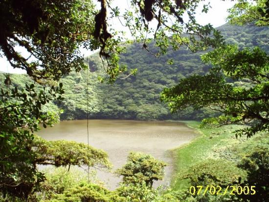 Finca Santo Domingo: laguna del maderas