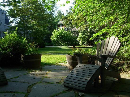 Mill House Inn : Morning Garden
