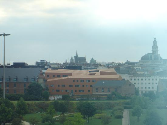 Crowne Plaza Lille : final view from room 510