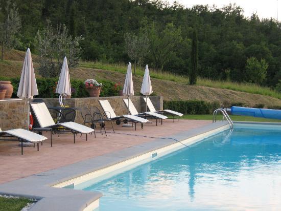 Casa Portagioia : The pool area