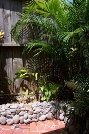 Ti Kaye Resort & Spa: Part of the awesome outdoor shower