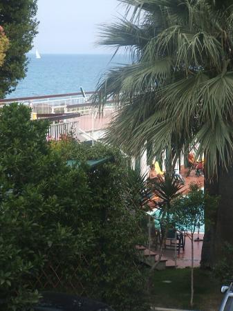 Diano Marina, Italy: view from balcony