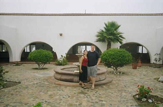 Hotel Mision Santa Maria: HOTEL COURTYARD
